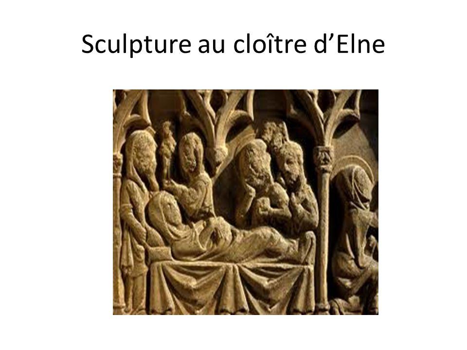 Sculpture au cloître dElne