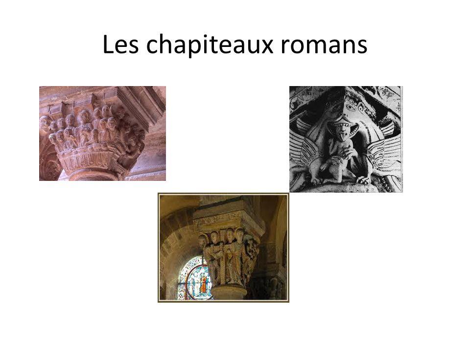 Les chapiteaux romans