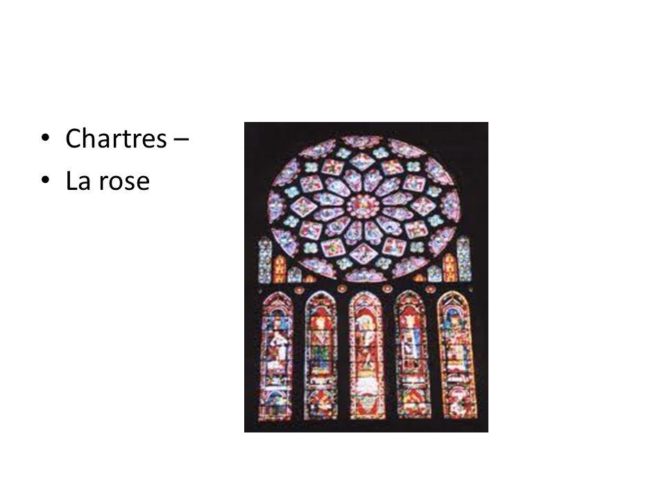 Chartres – La rose
