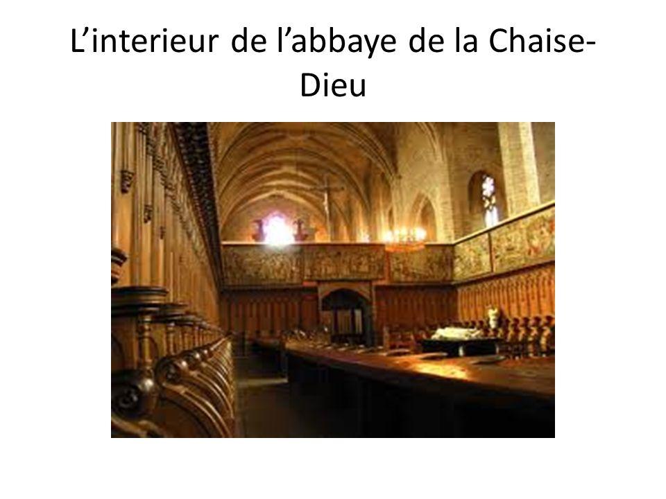 Linterieur de labbaye de la Chaise- Dieu