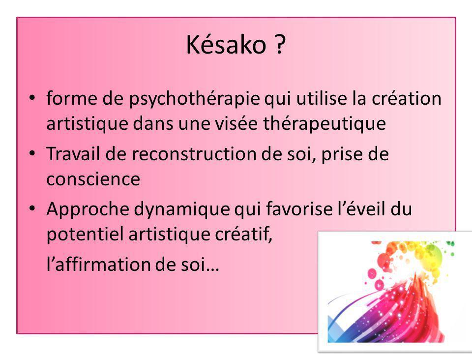 Art-Thérapie « Késako .