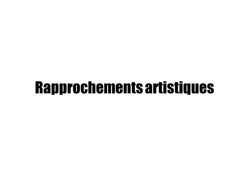 Rapprochements artistiques