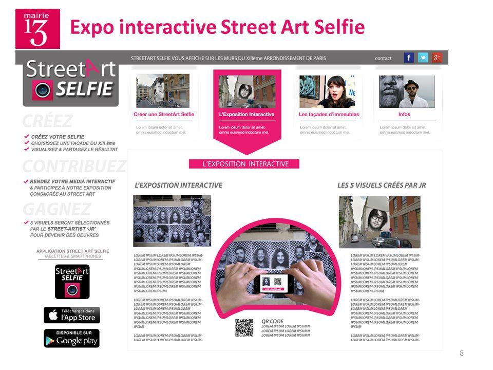 9 La Galerie Street Art Selfie