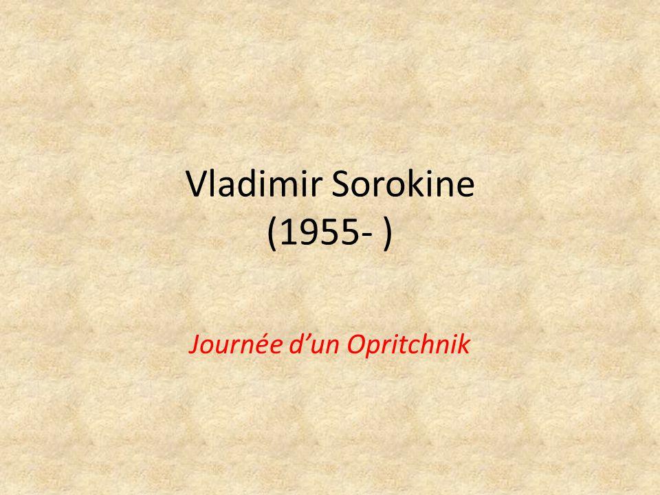 La voie dun post-moderniste Éducation technique Débuts comme artiste conceptualiste Commence à écrire fin des années 70 Publié en URSS à partir de 1989