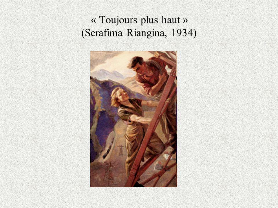 « Toujours plus haut » (Serafima Riangina, 1934)
