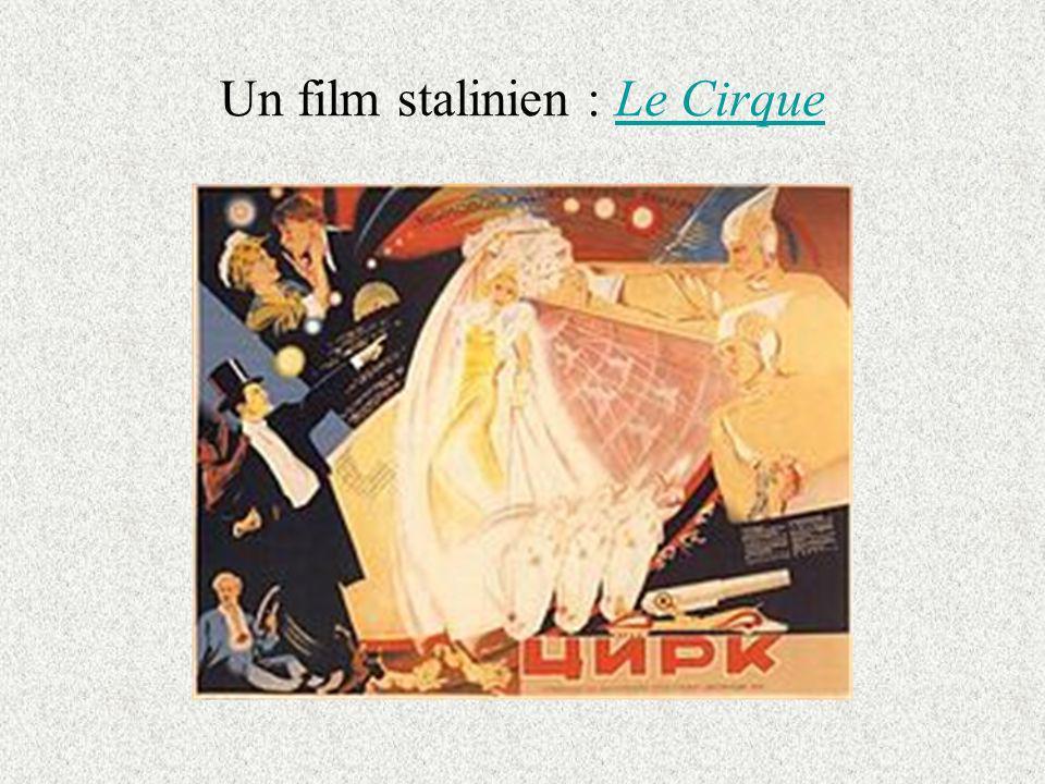 Un film stalinien : Le CirqueLe Cirque