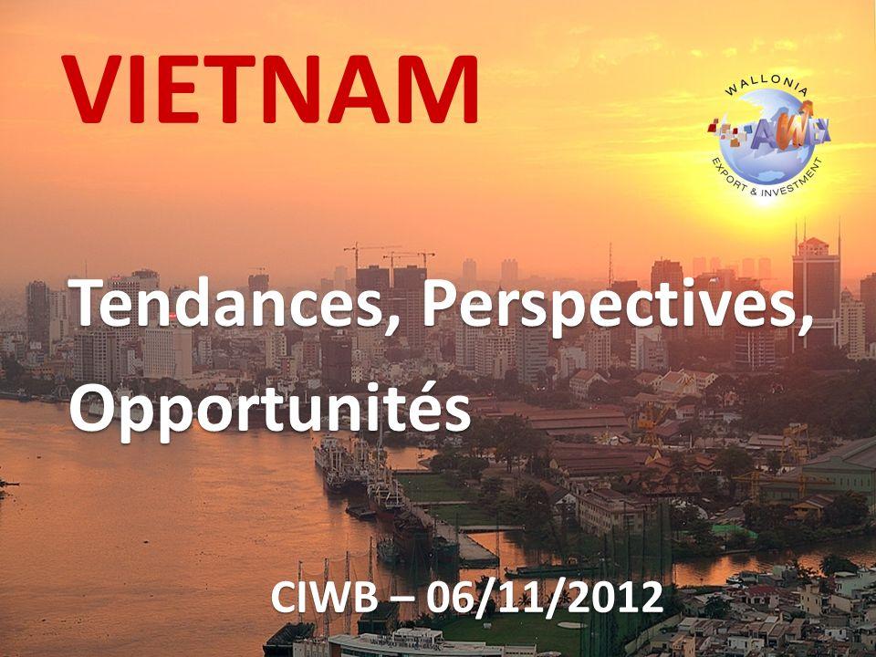 VIETNAM Tendances, Perspectives, Opportunités CIWB – 06/11/2012