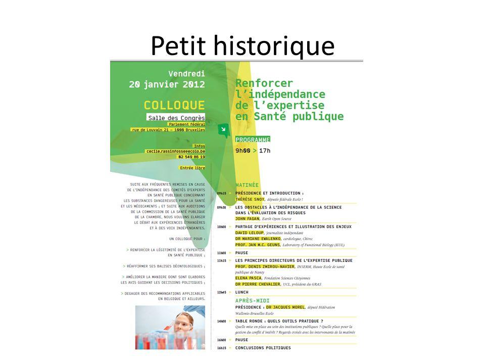 Petit historique