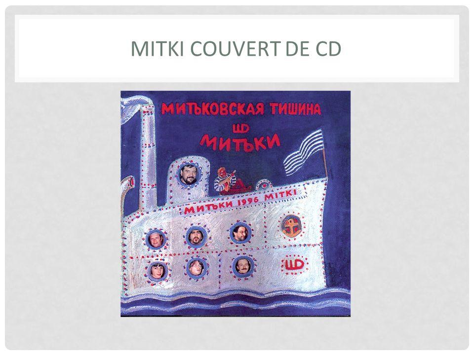 MITKI COUVERT DE CD