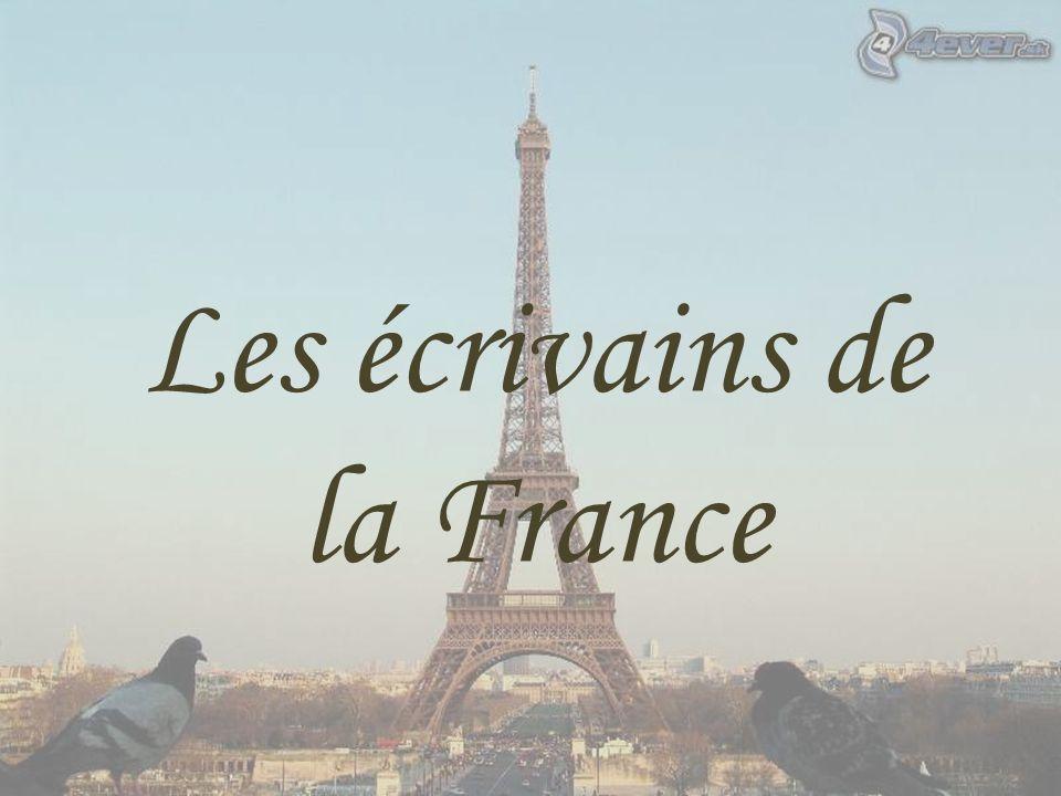 Les écrivains de la France