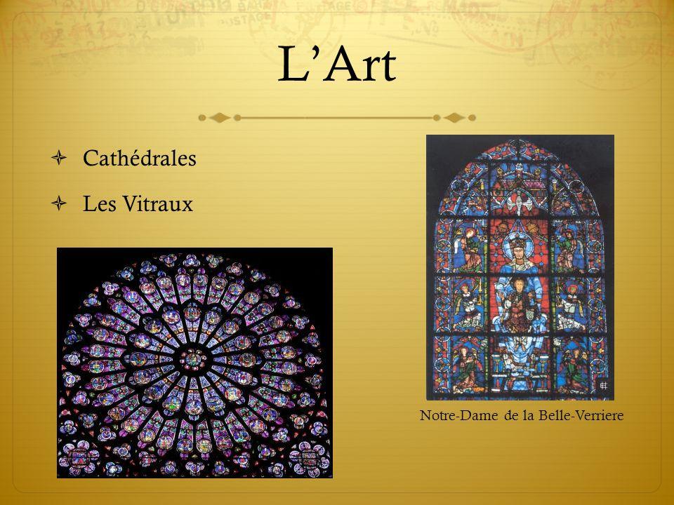 LArt Cathédrales Les Vitraux Notre-Dame de la Belle-Verriere