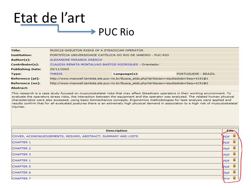 Etat de lart PUC Rio 9