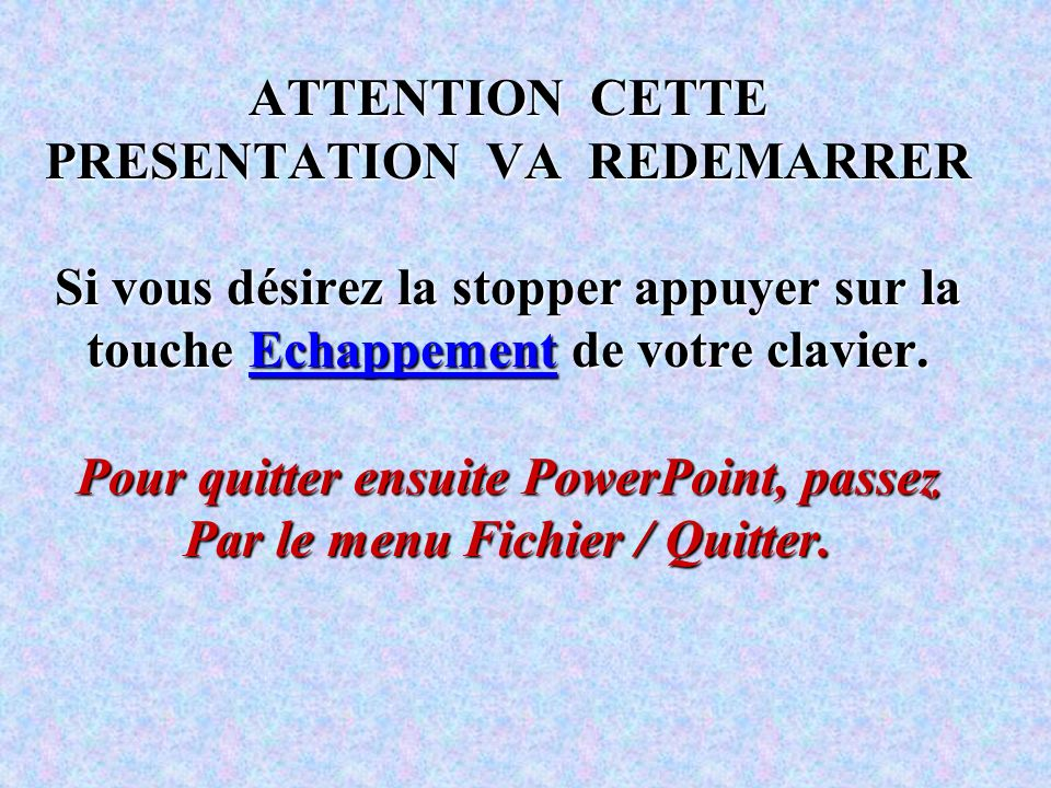 PRESENTATION EFFECTUEE SUR POWERPOINT 97 Par Jean-François LHOMME Achevée le 25/02/1998