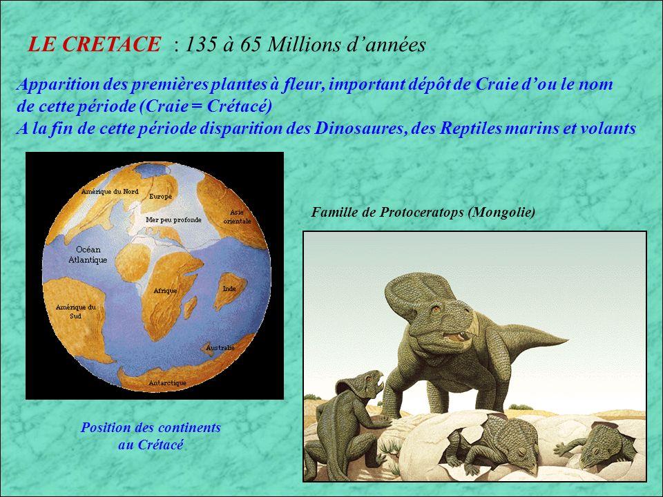 LE JURASSIQUE (6) : 190 à 135 Millions dannées