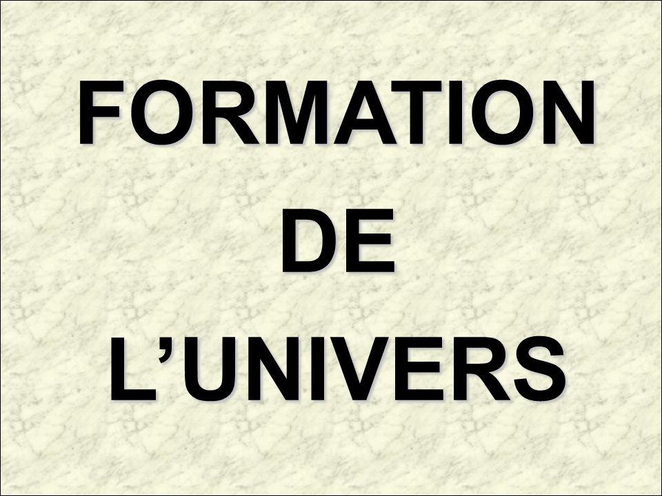 FORMATIONDELUNIVERS