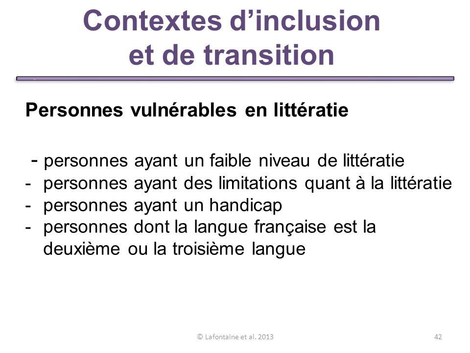 © Lafontaine et al.