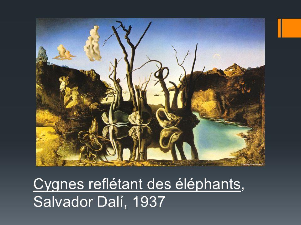 Cygnes reflétant des éléphants, Salvador Dalí, 1937