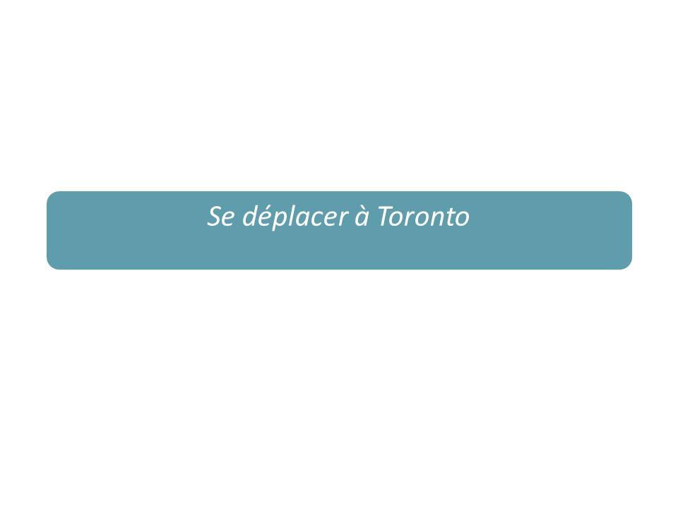 Se déplacer à Toronto
