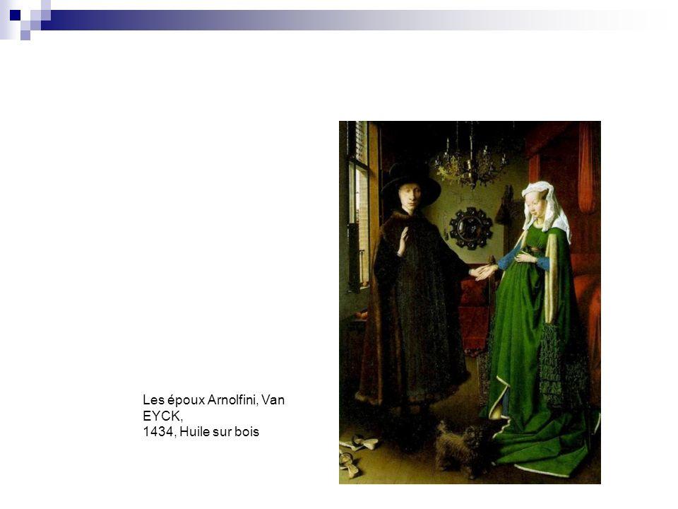 Les époux Arnolfini, Van EYCK, 1434, Huile sur bois