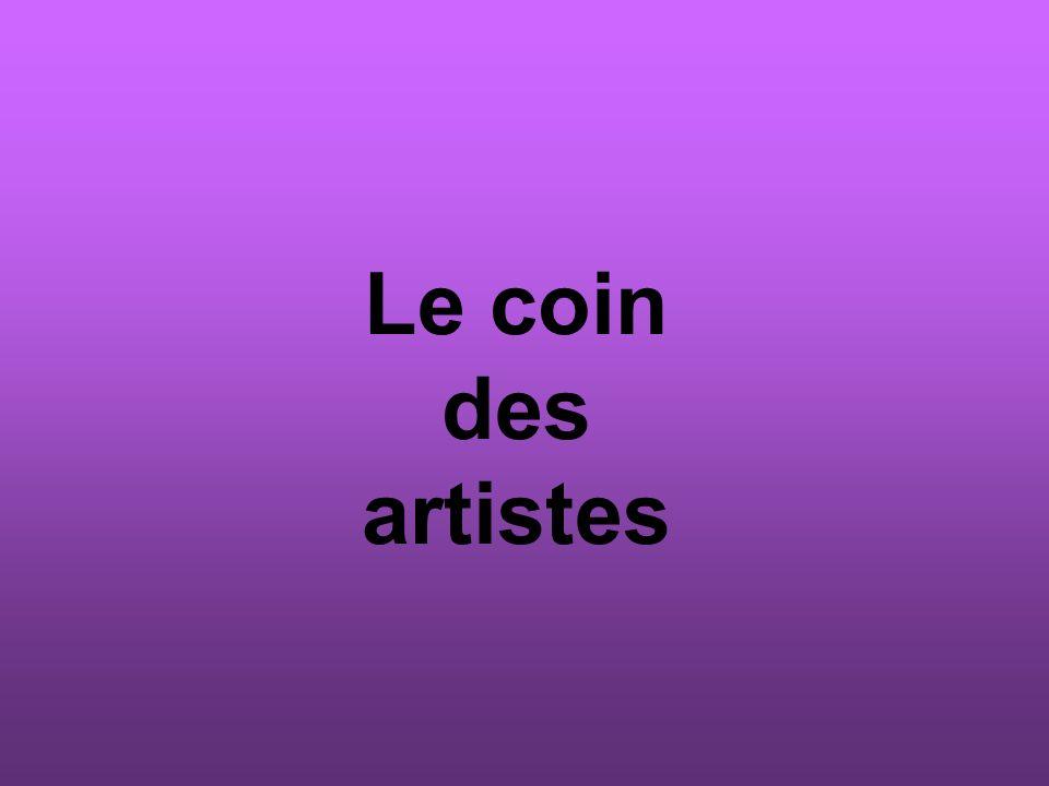 Le coin des artistes