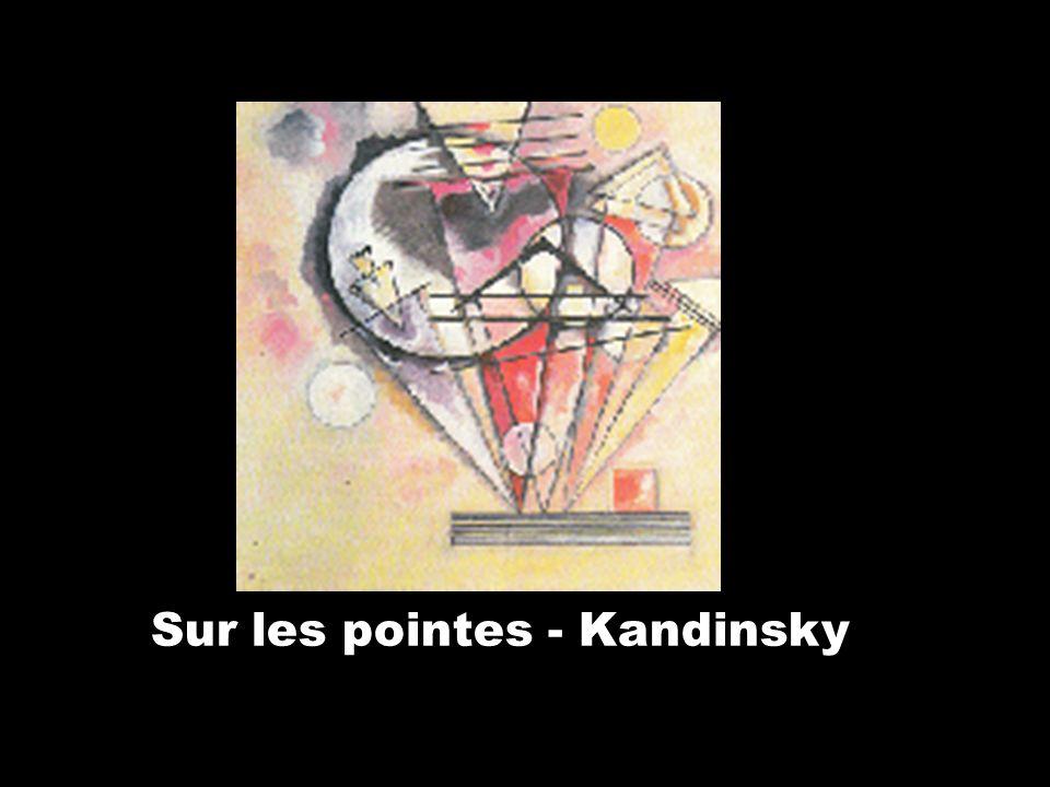 Sur les pointes - Kandinsky
