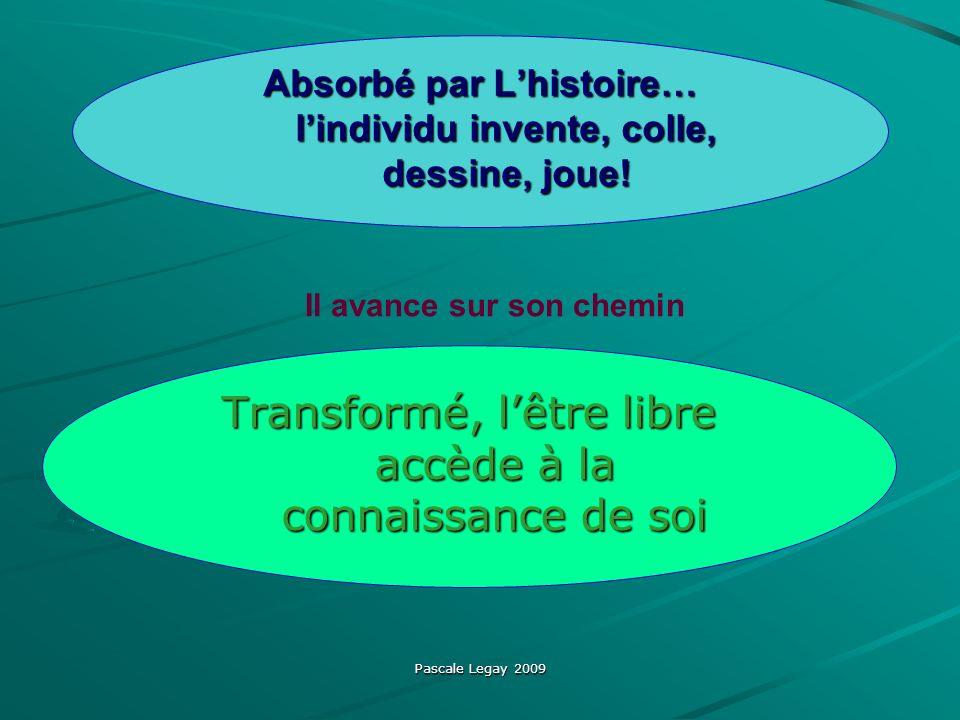 Pascale Legay 2009 Absorbé par Lhistoire… lindividu invente, colle, dessine, joue.