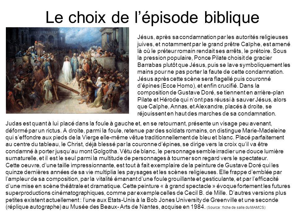 Trois Evangiles pour raconter une même histoire Objectifs : retrouver des informations dans trois textes différents, les comparer, apprécier le choix du peintre.
