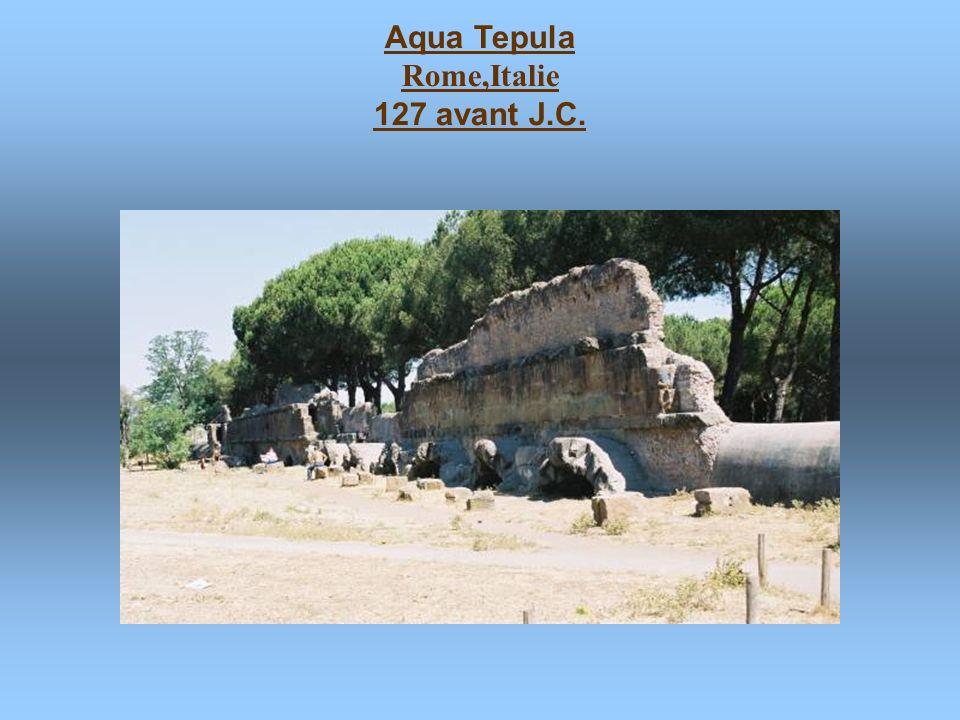Pons Aemilius Rome,Italie 179 avant J.C. - 142 avant J.C. en ruines