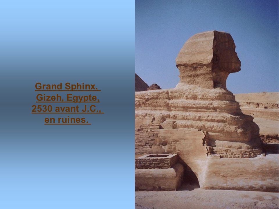 Pyramide de Kheops, 2589 avant J.C.- 2566 avant J.C.