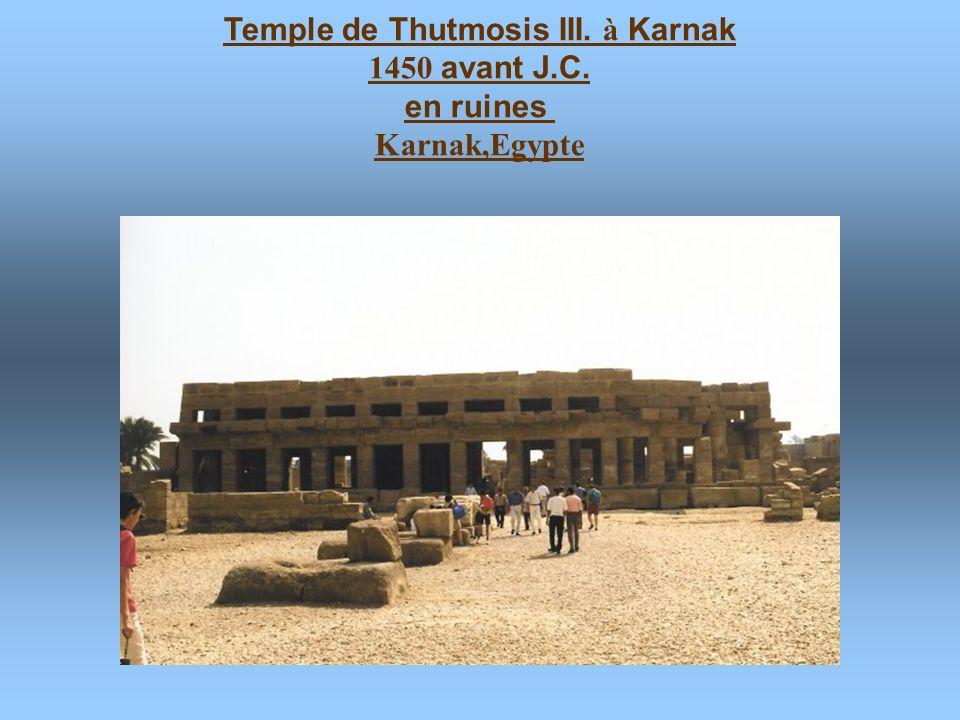 Temple funeraire de Hatshepsout 1450 avant J.C. Deir el-Bahari,Egypte