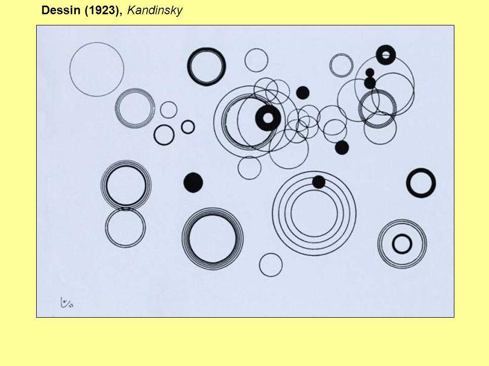 Dessin (1923), Kandinsky