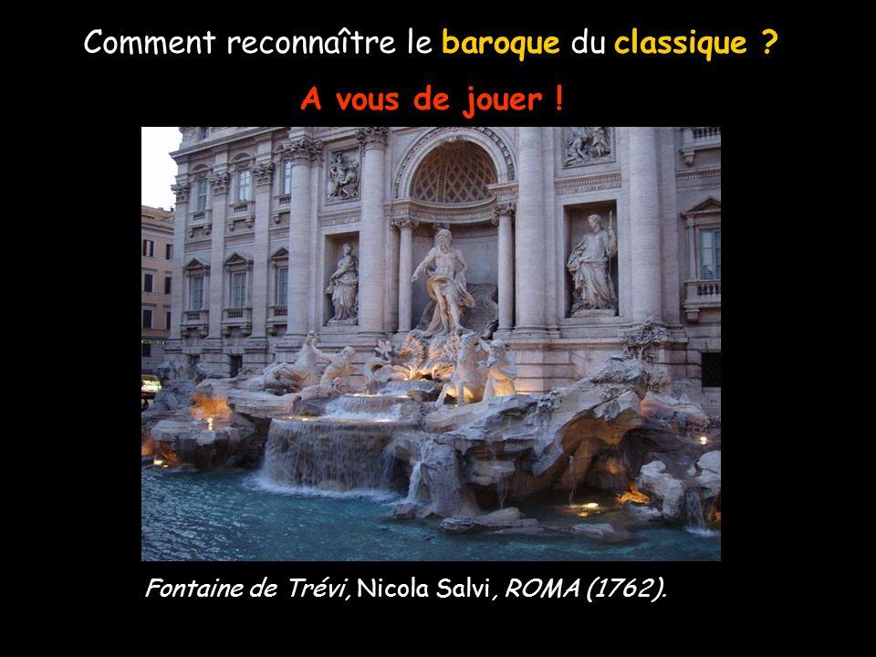 Comment reconnaître le baroque du classique ? A vous de jouer ! Colonnade place St Pierre, Le Bernin, ROMA (1656).