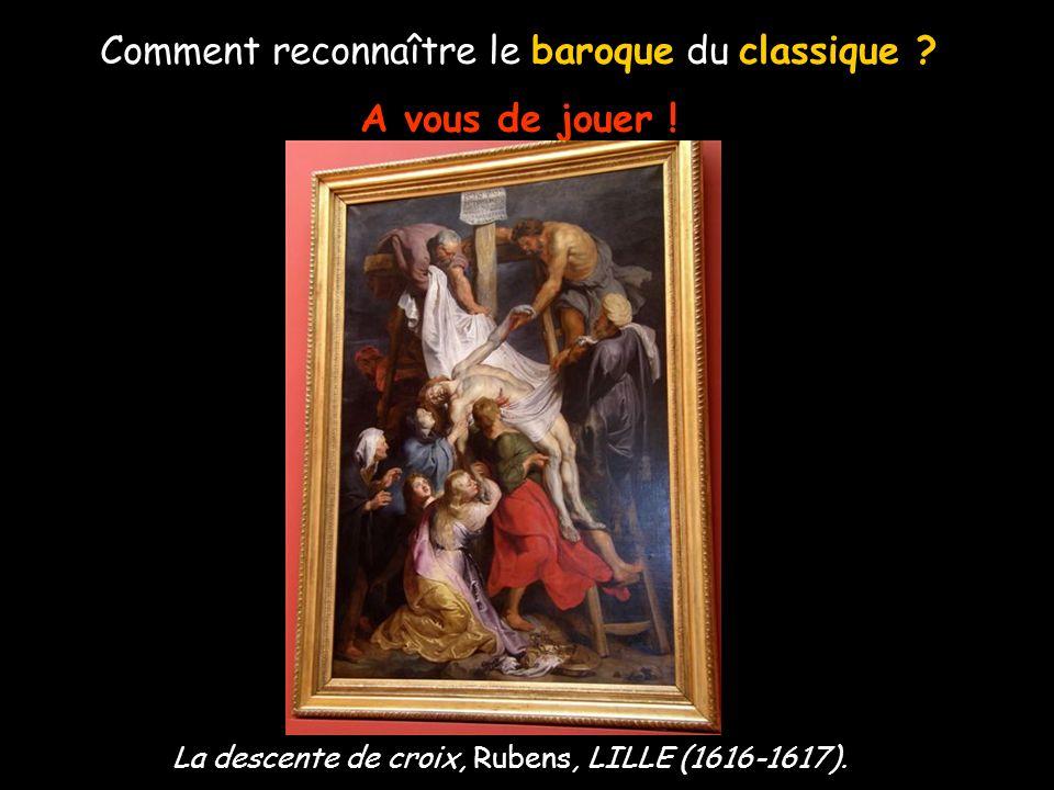 Comment reconnaître le baroque du classique ? A vous de jouer ! Ex-voto, Ph. De Champaigne, PARIS (1662).