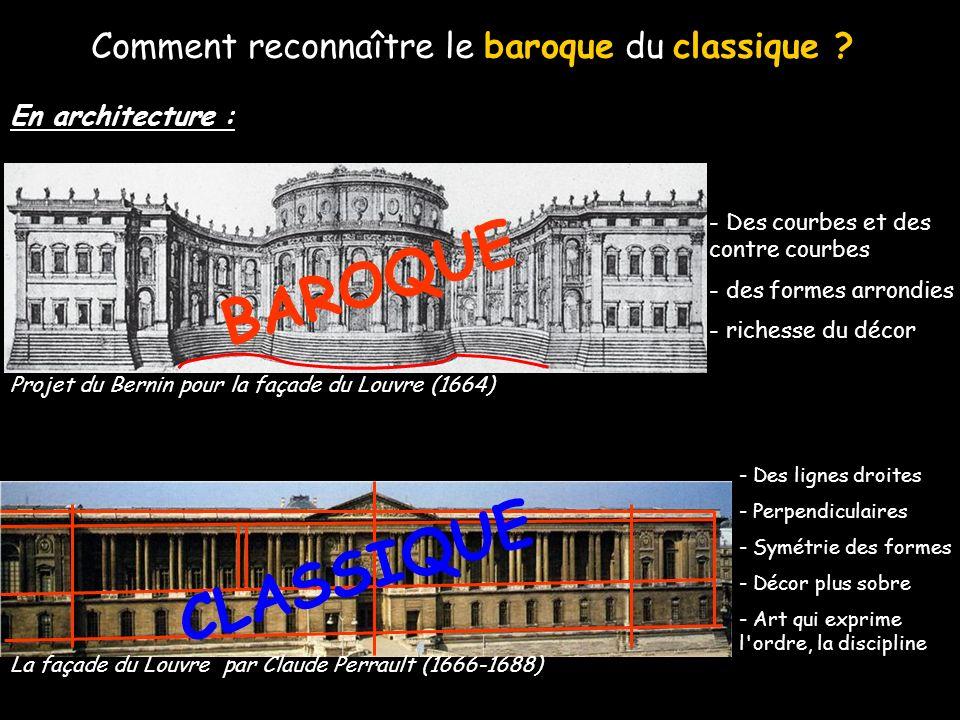 Londres ESPAGNE BAVIERE AUTRICHE Rome Paris Versailles Zone de forte diffusion de l art baroque Grand foyer de l art baroque et diffusion Grand centre