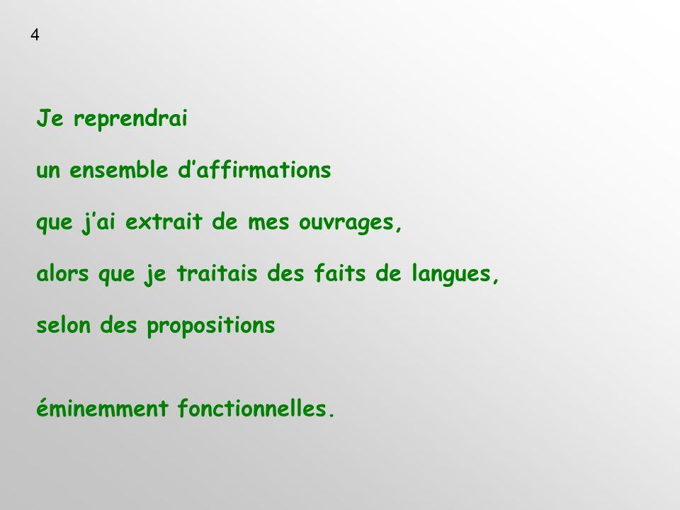 1.3 La systématisation grammaticale. Que signifie offrir des systématisations? 15