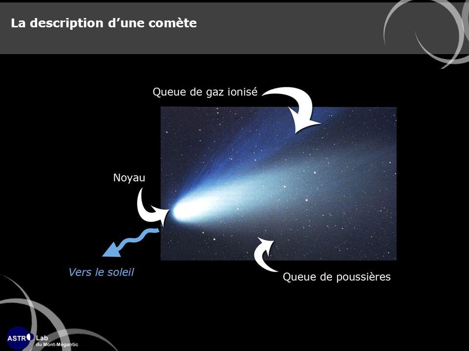 La description dune comète