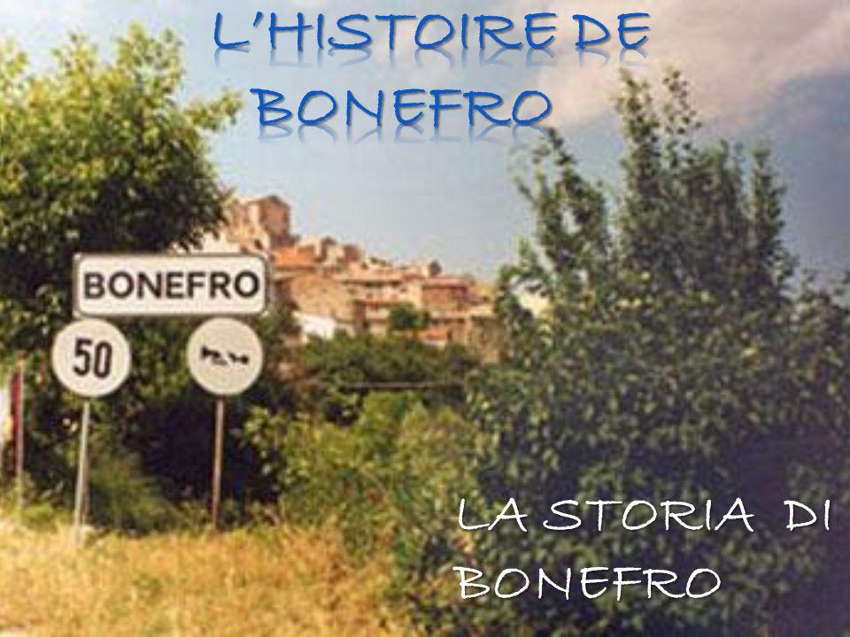 LA STORIA DI BONEFRO
