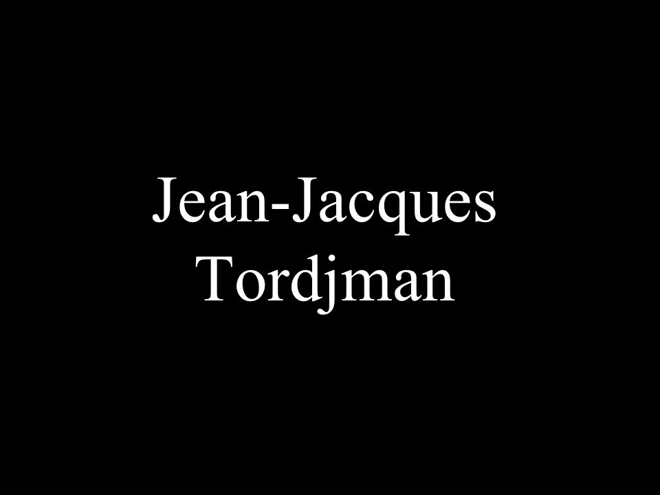Jean-Jacques Tordjman