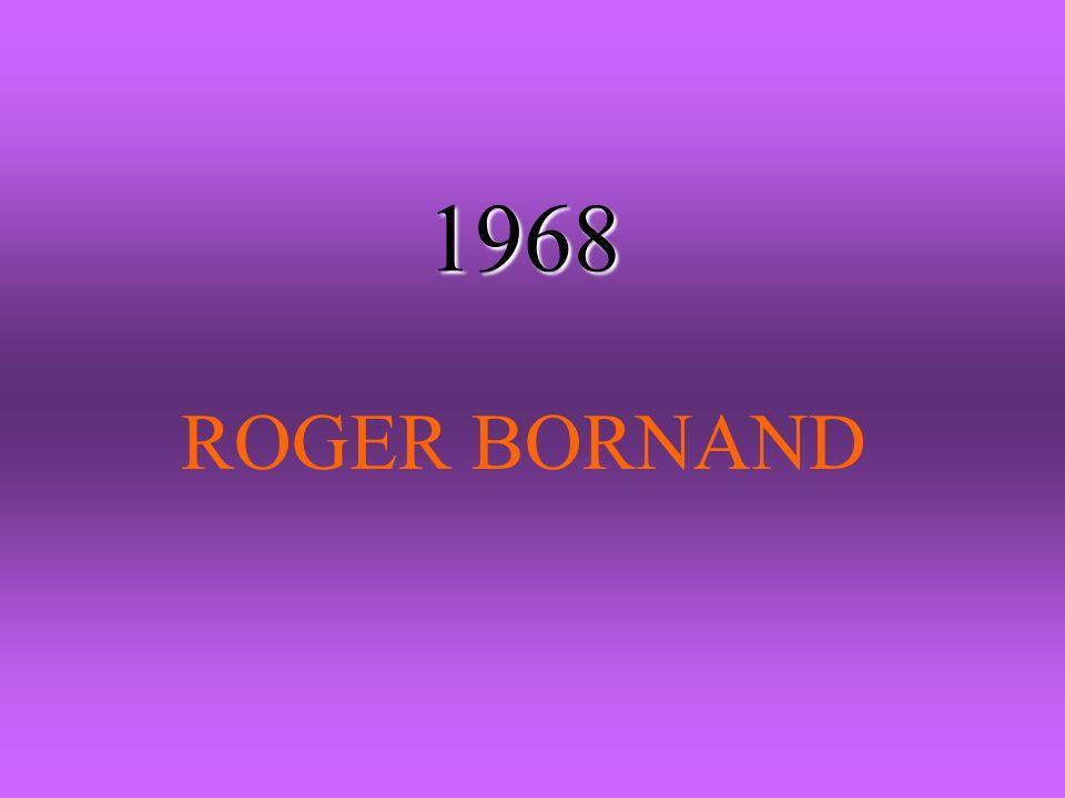 1968 ROGER BORNAND
