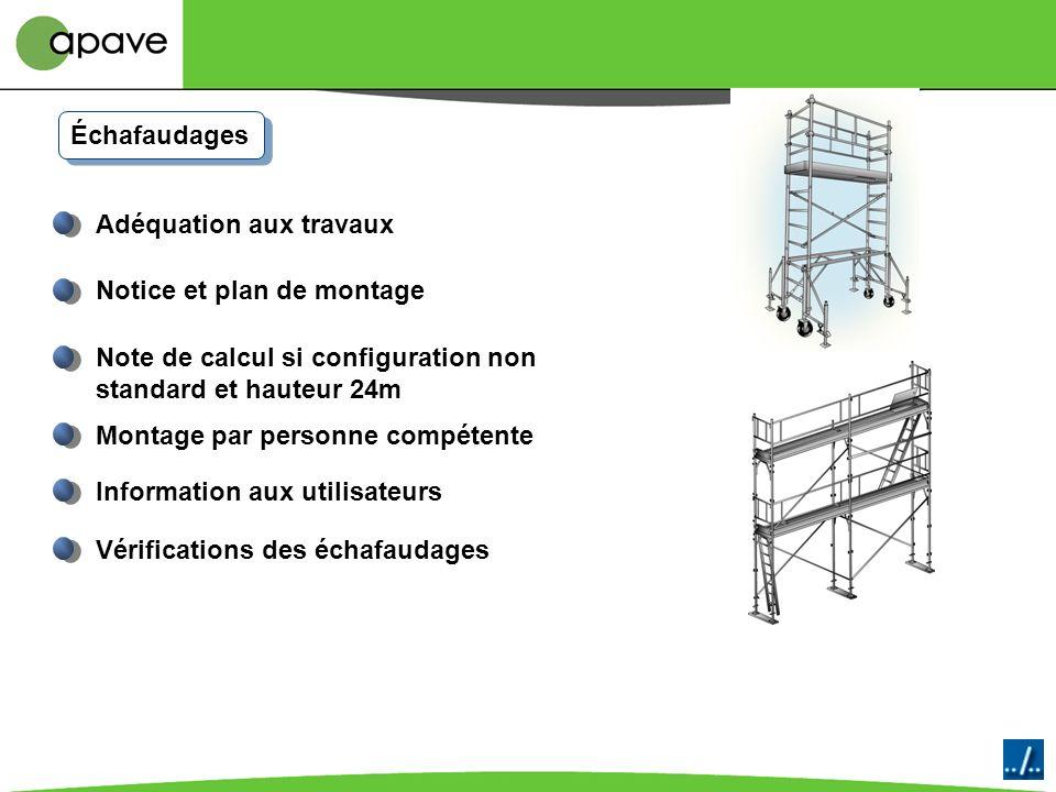 Syndicat Français de léchafaudage du coffrage et de létaiement Il valide les agréments des organismes de formation qui pourront former, évaluer et qua