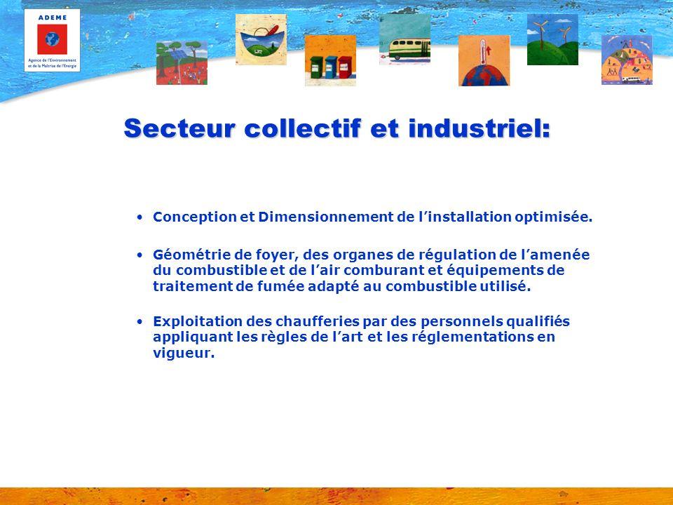 Secteur collectif et industriel: Conception et Dimensionnement de linstallation optimisée.