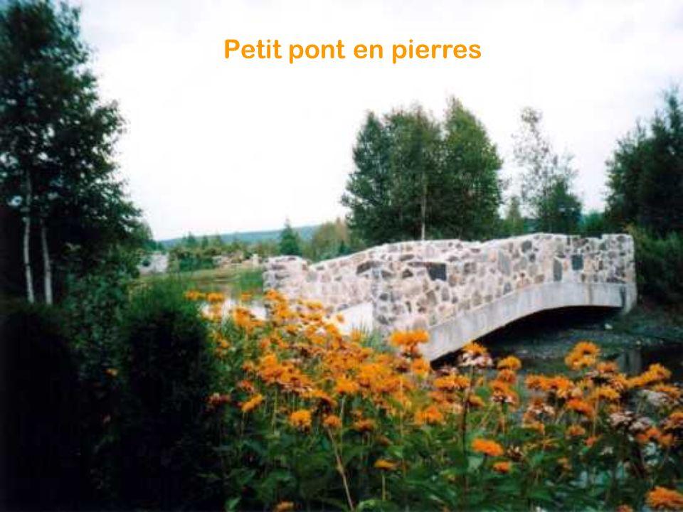 Petit pont en pierres