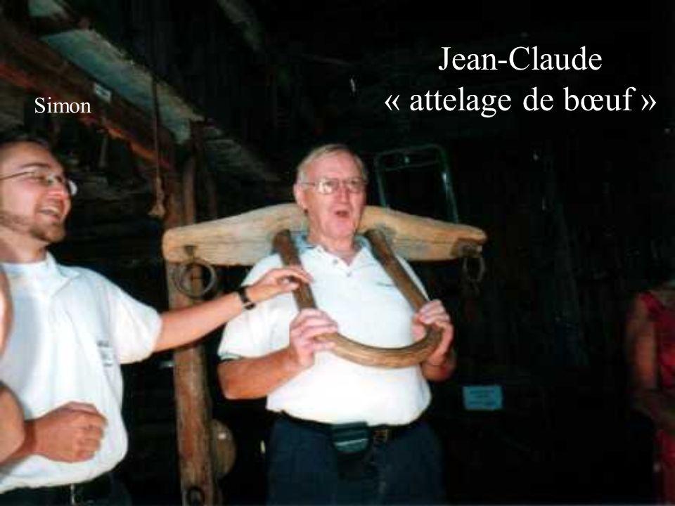 Jean-Claude « attelage de bœuf » Simon