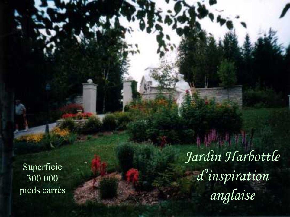Jardin Harbottle dinspiration anglaise Superficie 300 000 pieds carrés