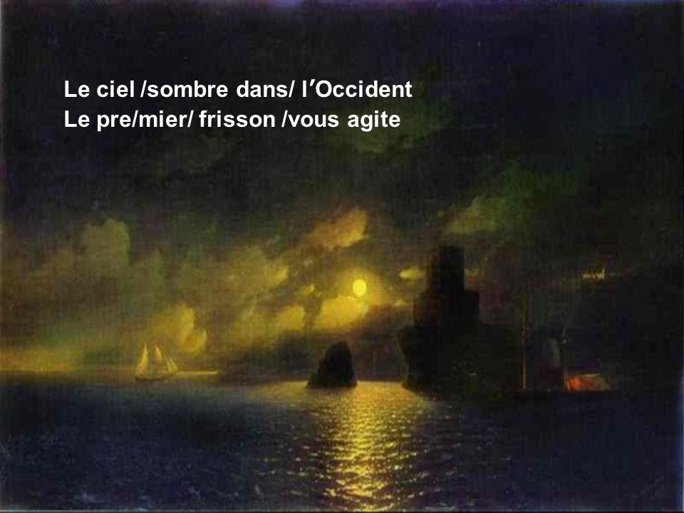 Déjà /lhorizon/ se délite Déjà … Paroles & musique : Michel Carrillo En hommage à Ivan Aivazovsky Peintre arménien