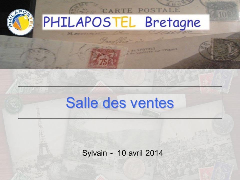 Salle des ventes Sylvain - 10 avril 2014