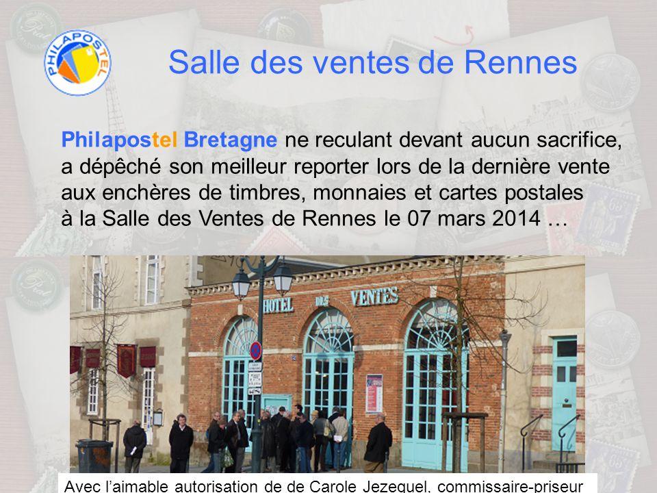Salle des ventes de Rennes RENNES ENCHERES est une maison de vente issue dune charge établie au XIXe siècle.