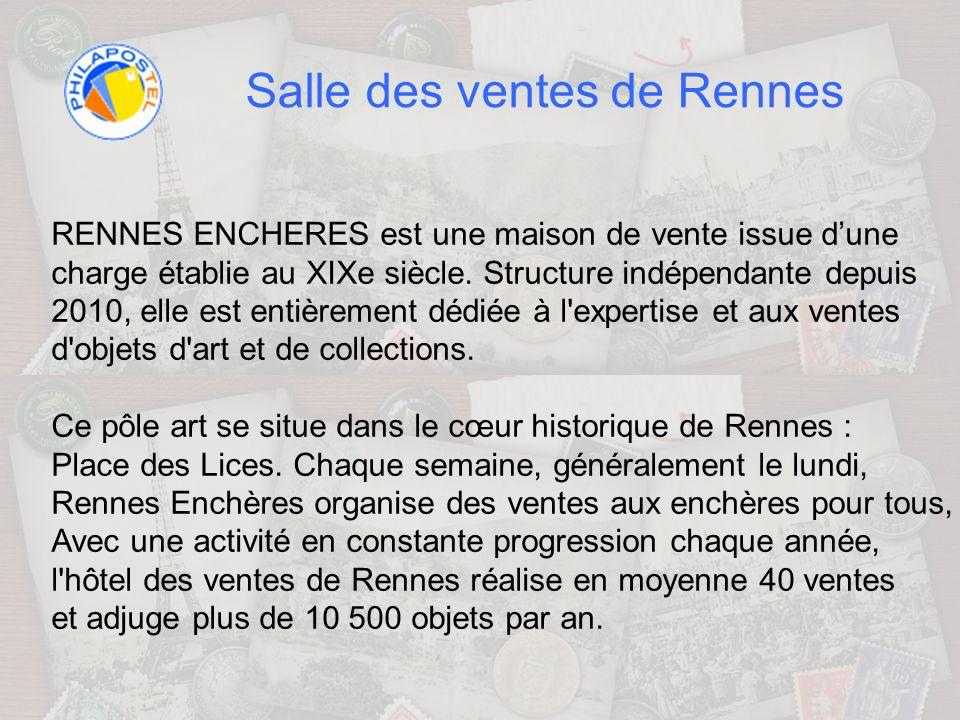 Salle des ventes de Rennes