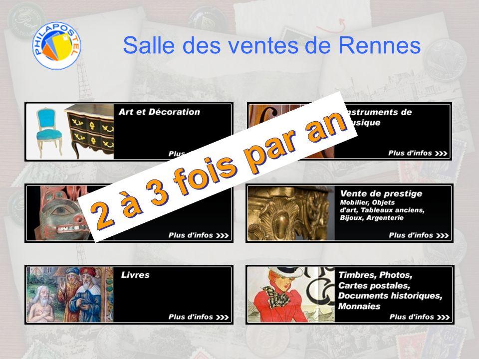 Salle des ventes de Rennes Acte 3 : Adjugé … vendu .