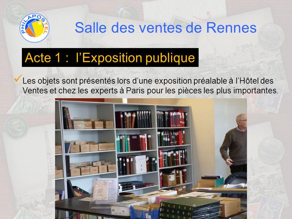 Salle des ventes de Rennes Cest loccasion pour chacun de découvrir et apprécier de visu les objets proposés à la vente ainsi que leur état de conservation
